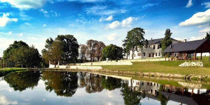 Romantický pobyt v Chateau Šarkan*** pri Štúrove