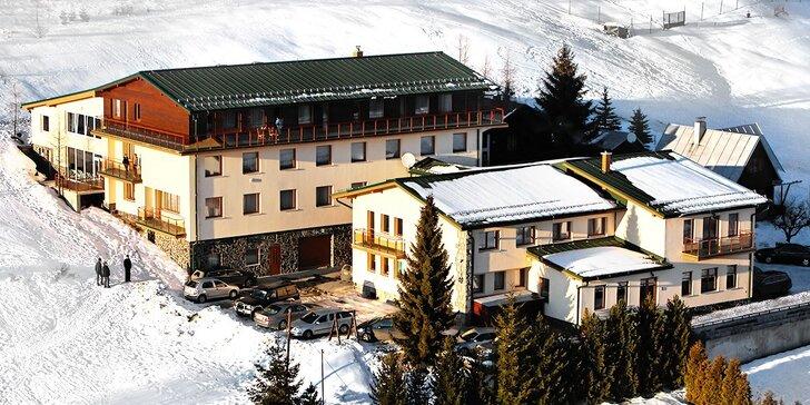 Rodinná Ski dovolenka*** na Donovaloch s wellness a neobmedzeným vstupom do vyhrievaného bazéna