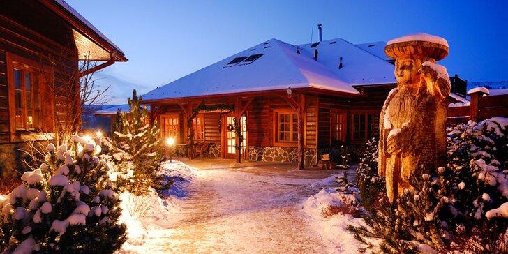 Zimná dovolenka s rodinou v Sojka Resort v krásnom prírodnom prostredí v srdci Liptova