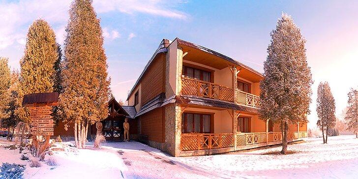 Zimná lyžiarska a bežkárska dovolenka na ranči, relax a až 50 % zľavy na skipasy
