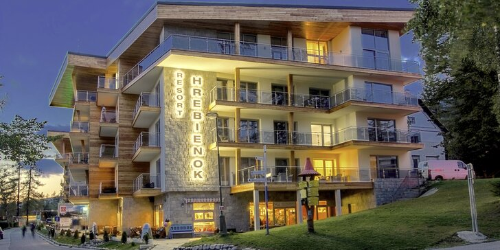 Pobyt v nových exkluzívnych apartmánoch HREBIENOK RESORT