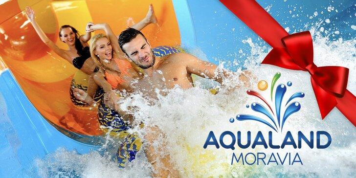 Celodenné vstupenky do Aqualandu Moravia vrátane wellness procedúr