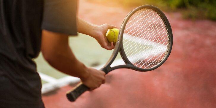 Darčeková poukážka na tenisové či bedmintonové ihrisko