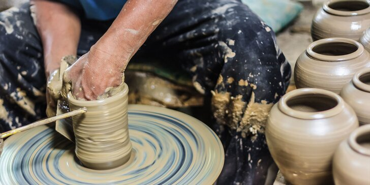 Kreatívny keramický kurz keramiky - tip na zážitkový darček