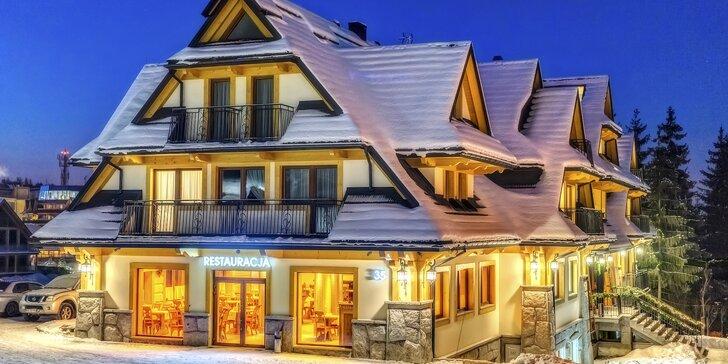 Skvelý oddych v útulnom Hoteli Gold*** v Zakopanom kedykoľvek počas roka