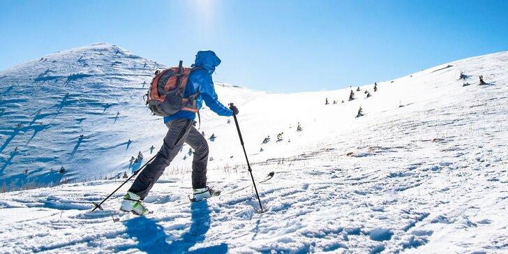 3-dňový kurz skialpinizmu - úžasný zážitok v slovenskom snehu