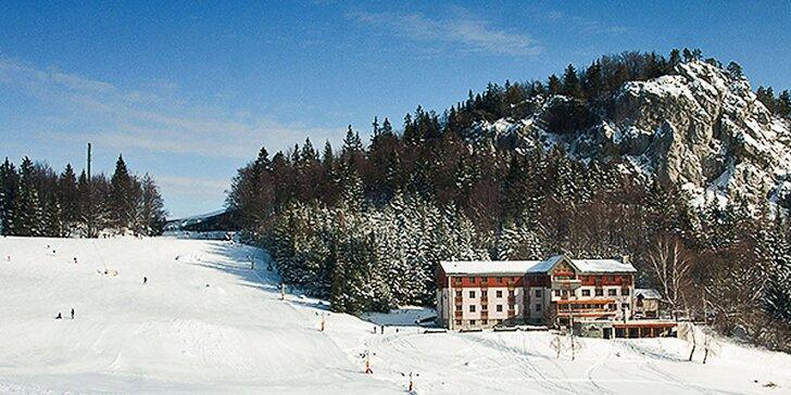 Lyžiarsky alebo Relax pobyt s wellness v Hoteli Malina*** priamo na svahu Malinô Brdo