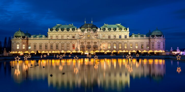 Za romantikou i pamiatkami: 2–4 dni v centre Viedne s raňajkami pre dvoch