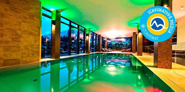 Exkluzívny SPA wellness pobyt v Hoteli LESNÁ**** vo Vysokých Tatrách