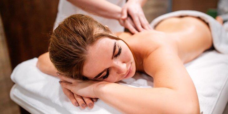Načerpajte energiu pri liečivej relaxačnej masáži