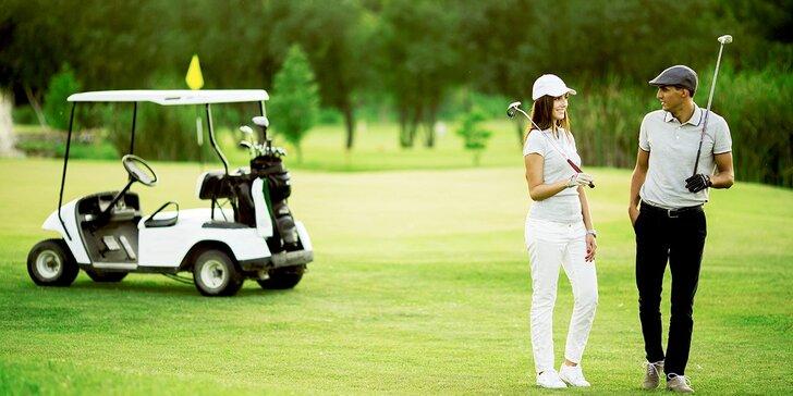 Pobyt v Penzionu Golf Ještěd s adventure golfom a polpenziou