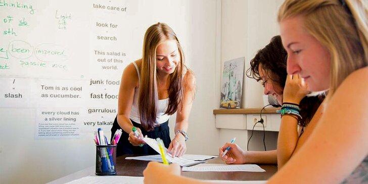 Kurz angličtiny s prípravou na IETLS/TOEFL testy