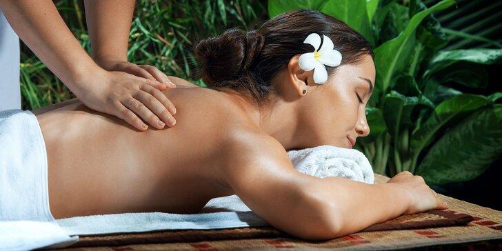 Pestrý výber masáží v Jasmínke