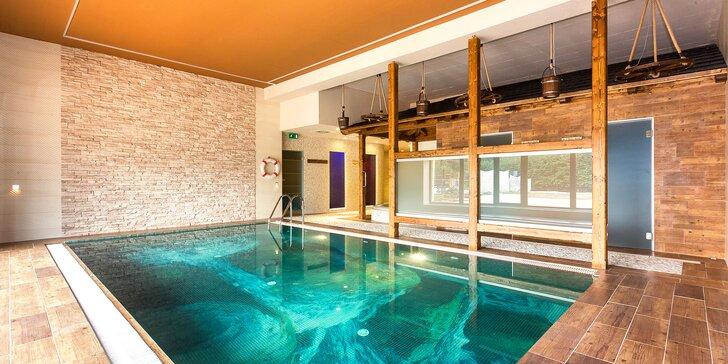Pohodová dovolenka v Beskydách: voľný vstup do wellness, polpenzia aj lyžovanie
