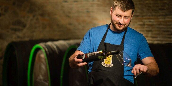"""Zážitkový """"Milujem slovenské víno"""" workshop"""