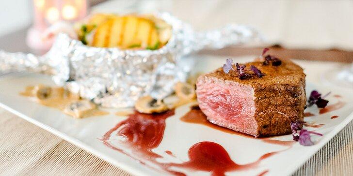 Steak v reštaurácii Nitka: rôzne druhy