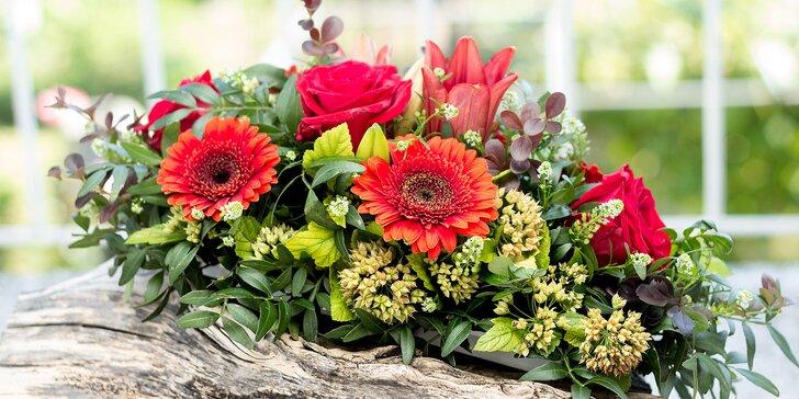 Kurz aranžovania kvetinových aranžmánov v nádobe