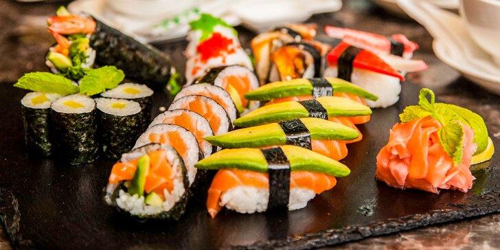 Chutný sushi set v Sunshine Eurovea