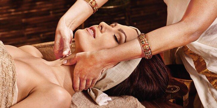 Luxusné omladzujúce alebo relaxačné balíčky v exotickom AYURASANe