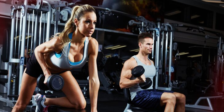 Neobmedzená permanentka do fitness centra IRON GYM