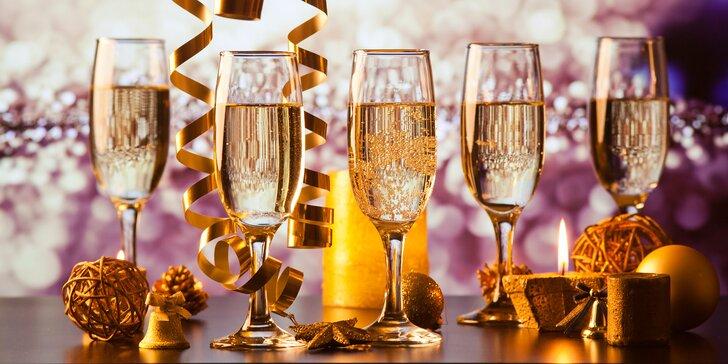 Silvestrovský večer plný zábavy v Hoteli Kráľová