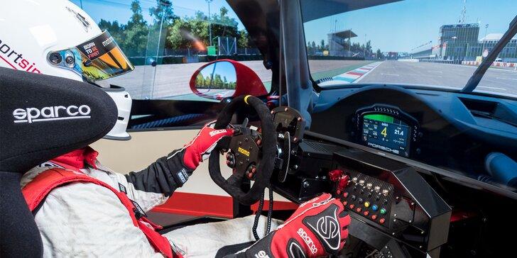 Jazda na racing simulátore SIMRACE