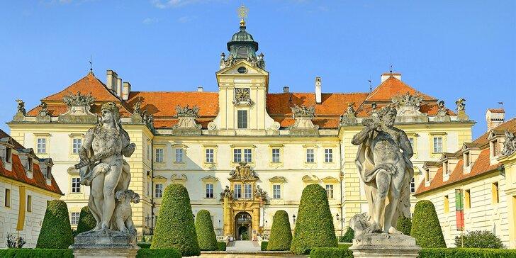Hotel Apollon*** - Kráľovský pobyt vo Valticiach, hlavnom meste vína v Čechách
