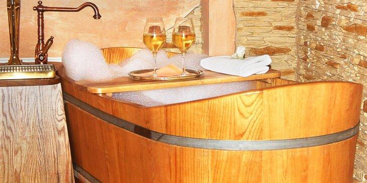 Relaxácia v Beskydách: polpenzia, neobmedzené wellness, pivný či vínny kúpeľ
