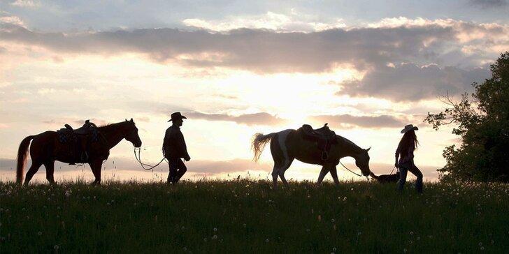 Dovolenka na konskom ranči v Beskydách: koubojská i valašská večera