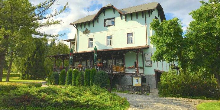 Štýlový historický Hotel Tatry*** v Tatranskej Lomnici