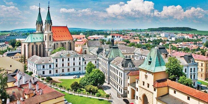 Trojdňový pobyt v secesnom hoteli v Kojetíne: polpenzia a prehliadka zámku