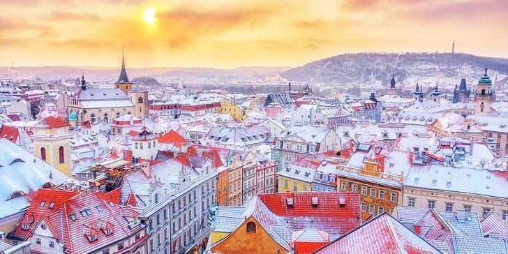 Romantika v uličkách Prahy: 3-denný pobyt s bohatými raňajkami pre dvoch