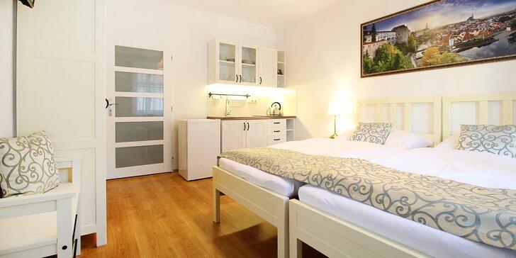 Magický Krumlov: pobyt pre dvoch v okúzľujúcom historickom apartmáne