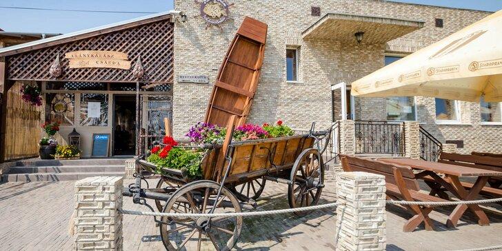 Otvorený voucher na konzumáciu jedál a nápojov v maďarskej čárde