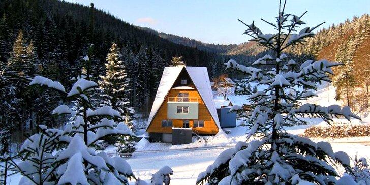 Horské apartmány na samote v Beskydách: wellness aj lyžiarsky vlek zadarmo