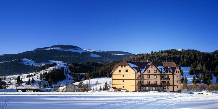 Zimná dovolenka s možnosťou lyžovania v krásnych apartmánoch v Slovenskom Raji