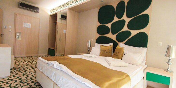 Pobyt pre páry aj rodiny s deťmi v hoteli Aurum Family ****