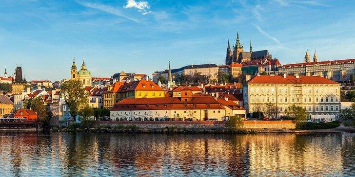 Pohoda v Prahe: 3-denný pobyt s raňajkami + dieťa do 12 rokov zdarma