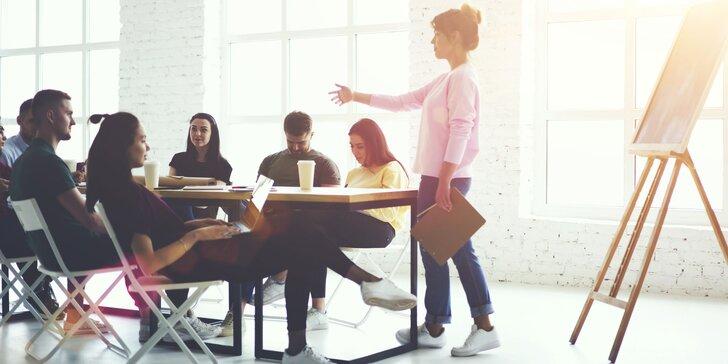 Workshop osobného rozvoja podľa vlastného výberu