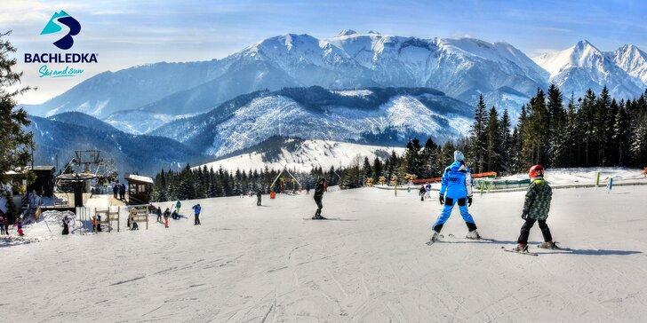 Celodenný skipas v Bachledke s kapustnicou v Aprés ski bare alebo bufete