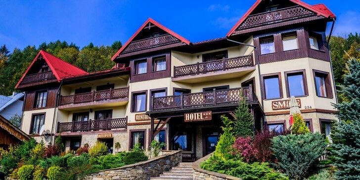 Skvelý pobyt v poľskom kúpeľnom mestečku Szczawnica v Hoteli Smile