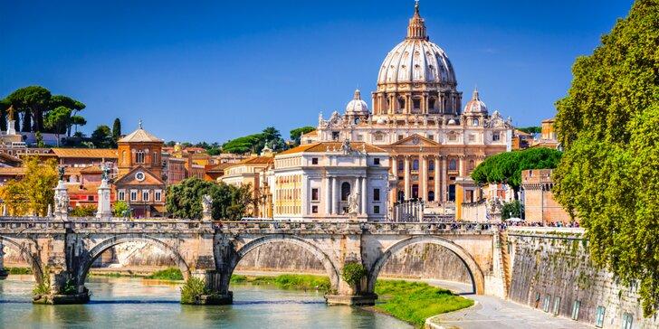 Zájazdy do Večného mesta Rím s nezabudnuteľnými zážitkami