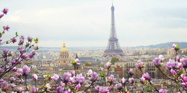 Romantický Paríž, umenie Montmartre, La Défense a Versailles