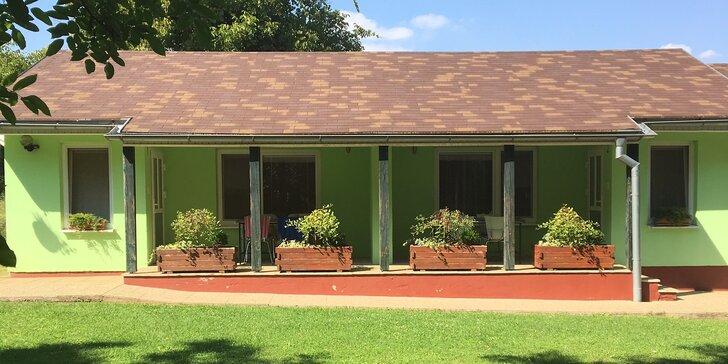 Príjemné ubytovanie v súkromí v bungalovoch v Podhájskej