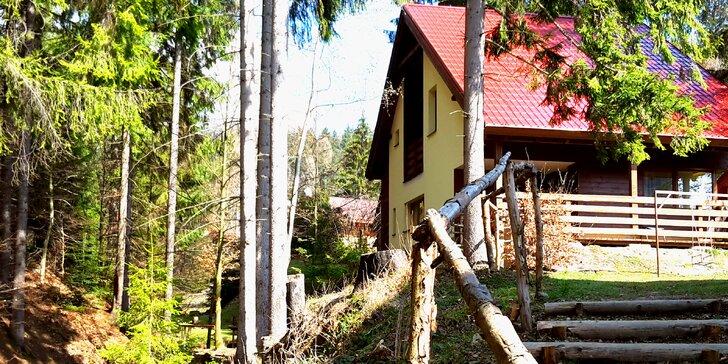 Skvelý pobyt v horách na Chate Čertovka so vstupom do bazénov