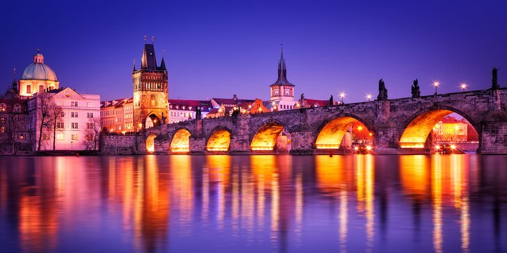 Príjemné ubytovanie pre 2 osoby v centre Prahy!