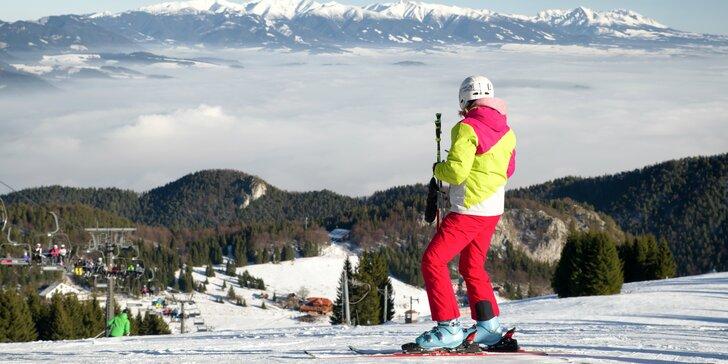 Wellness pobyt v hoteli Áčko *** s lyžovačkou v SKIPARK Malinô Brdo