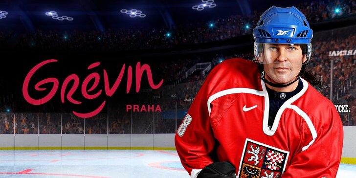 Vstup do múzea Grévin s výstavou Zlaté časy českého hokeja