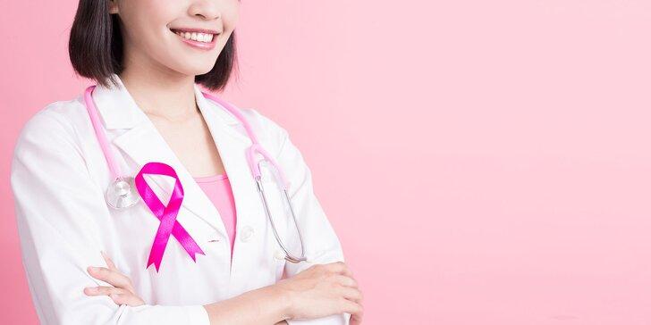 Kompletný screening prsníkov, prsného tkaniva a lymfatického systému