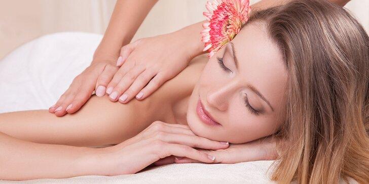 30 alebo 60 minút skvelého relaxu pri klasickej masáži